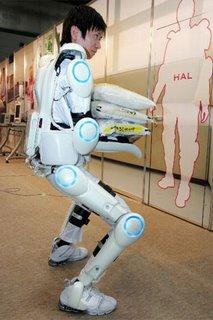HAL-5 exoskeleton