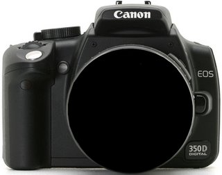 Canon 350 D digital camera