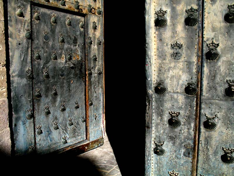 cathedral door; click for previous post