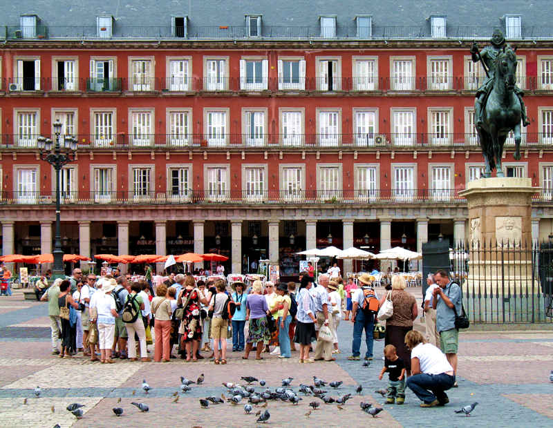 madrid plaza mayor; click for previous post