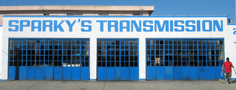 sparkys transmission; click for previous post