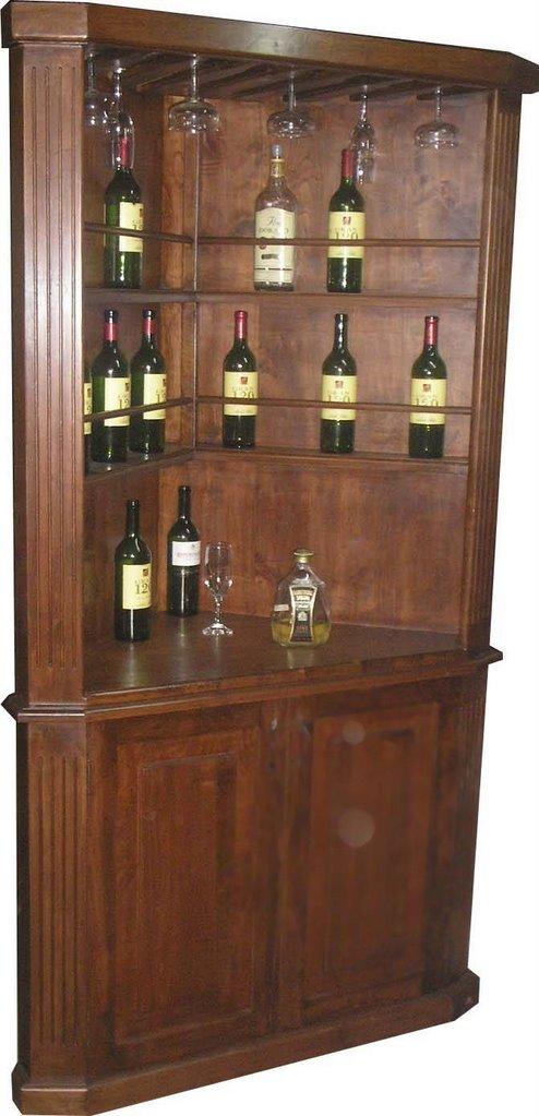 Muebles de cocina aereos esquineros ideas for Bar madera esquinero