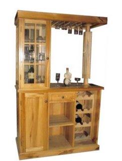 Muebles centro sur modulares bares alacenas esquineros for Bar de madera rustico esquinero