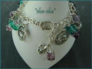 sha-sha handcrafted jewelry = New Orleans Charm Bracelet