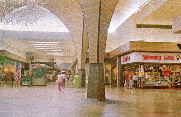 Malls of america vintage photos of lost shopping malls for Craft stores eugene oregon