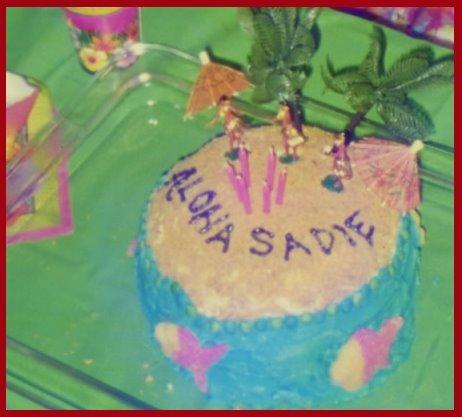 Cake Decorating Hawaiian Island
