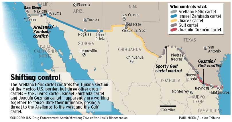 Aduanas en la Frontera Norte de Mexico en la Frontera Norte Con