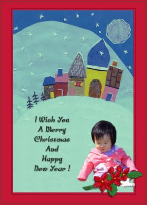 Christmas Fantansy. Greeting Card 2