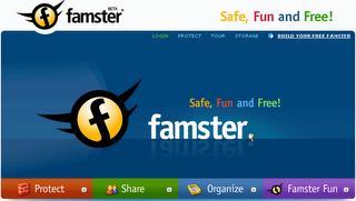 famster Een eigen website voor je gezin