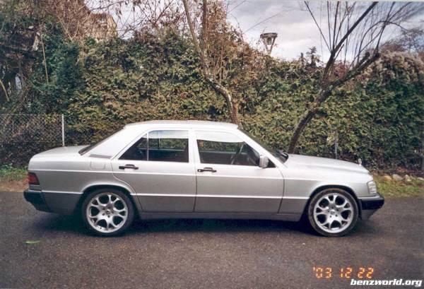 My mercedes benz for Mercedes benz 190e rims