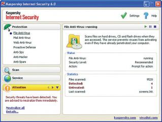 Kaspersky Internet Security 6.0