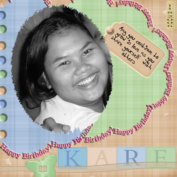 Every Day.... A New Beginning: Happy 18th Birthday Karizza