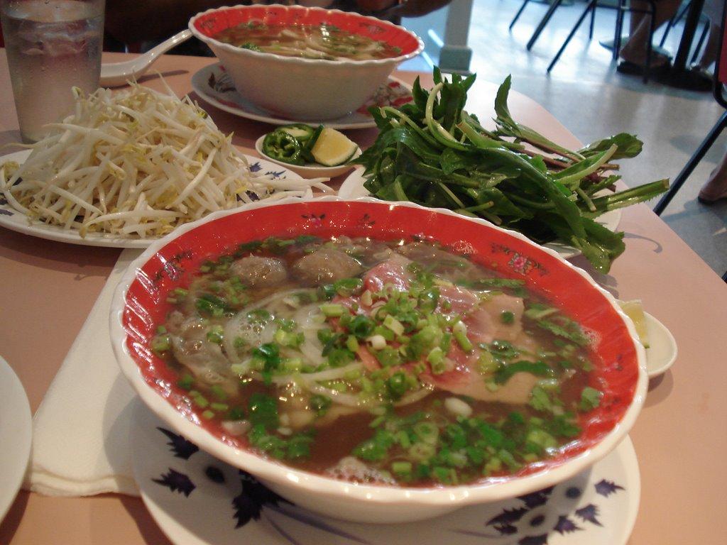 Lunch time grinds review saigon vietnamese cuisine - Vietnamese cuisine pho ...
