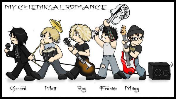 my chemical romance rocks