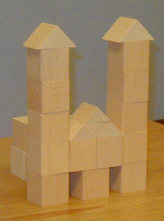 Block Play Froebel Gift Number 5