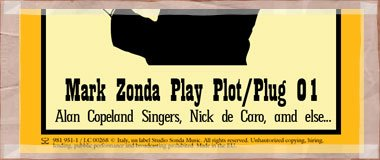 Mark Zonda Play Plot/Plug 01