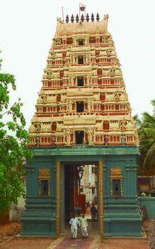 [Sri Lakshmi Narasimha Nanganallur MMTC Colony Temple Gopuram]