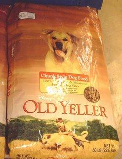 Yellow Bag Dog Food