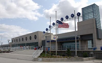 The new Convention Center in Wildwood, NJ
