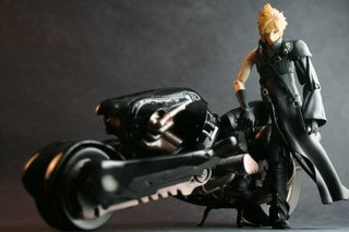 Toybot Studios Advent Children Cloud And Fenrir Motorcycle Review