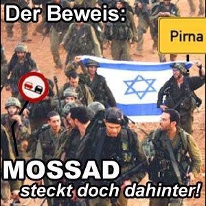 mossad steckt dahinter