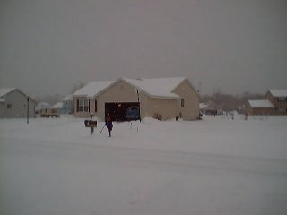 our house on a snow day 5 years ago
