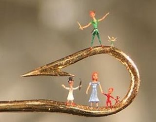 Miniature Art on Hook