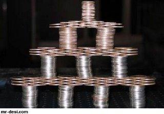 Coin Balancing