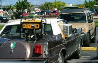 redneck car