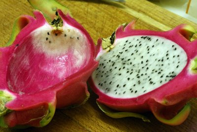 Dragon Fruit, half eaten