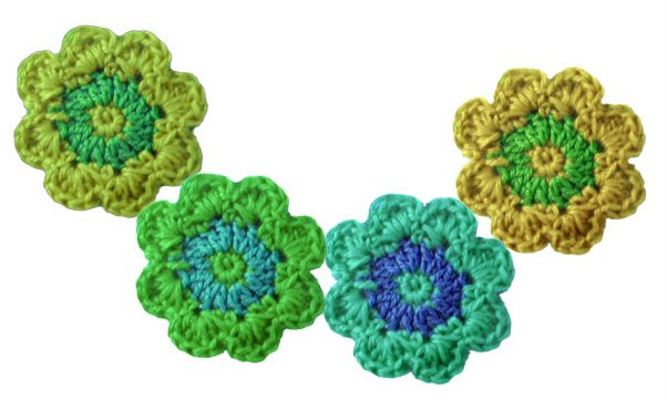 Needle Book Crochet Flower Scarf How To