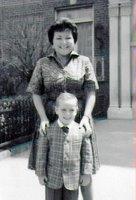 Gloria and Barry, circa 1962