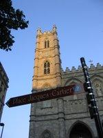 A church in Vieux Montréal