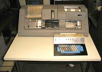 IBM 029 keypunch machine, mid-1970s