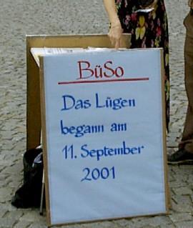 Das Lügen begann am 11 September 2001