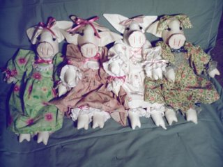 Animal Dolls, Pig Dolls