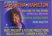 Samantha Hamilton - Psychic to the Stars