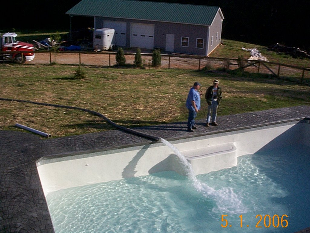 Do it yourself build an inground swimming pool for Diy small pool