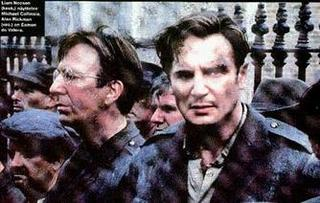 Alan Rickman und Liam Neeson in 'Michael Collins'