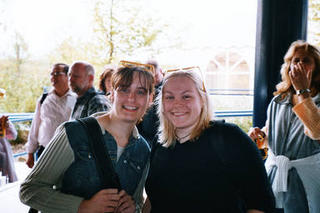 Christina und Sabine in Legoland