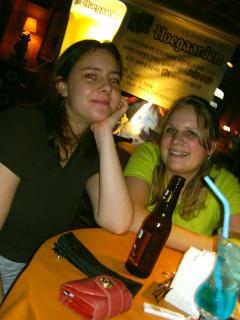 Vroni und ich in Bar