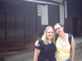 Vroni und ich im Palast