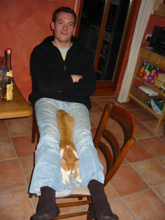 Matthias mit Carlo