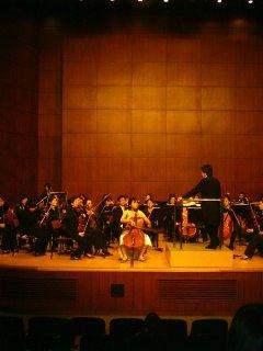 HyeJin Mok und Orchester