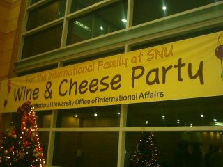 Wine & Cheese Christmas Party