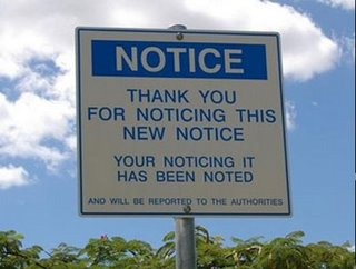 notice