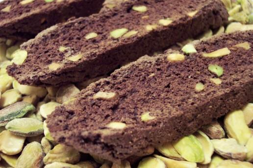 Culinary in the Desert: Double Chocolate Pistachio Biscotti