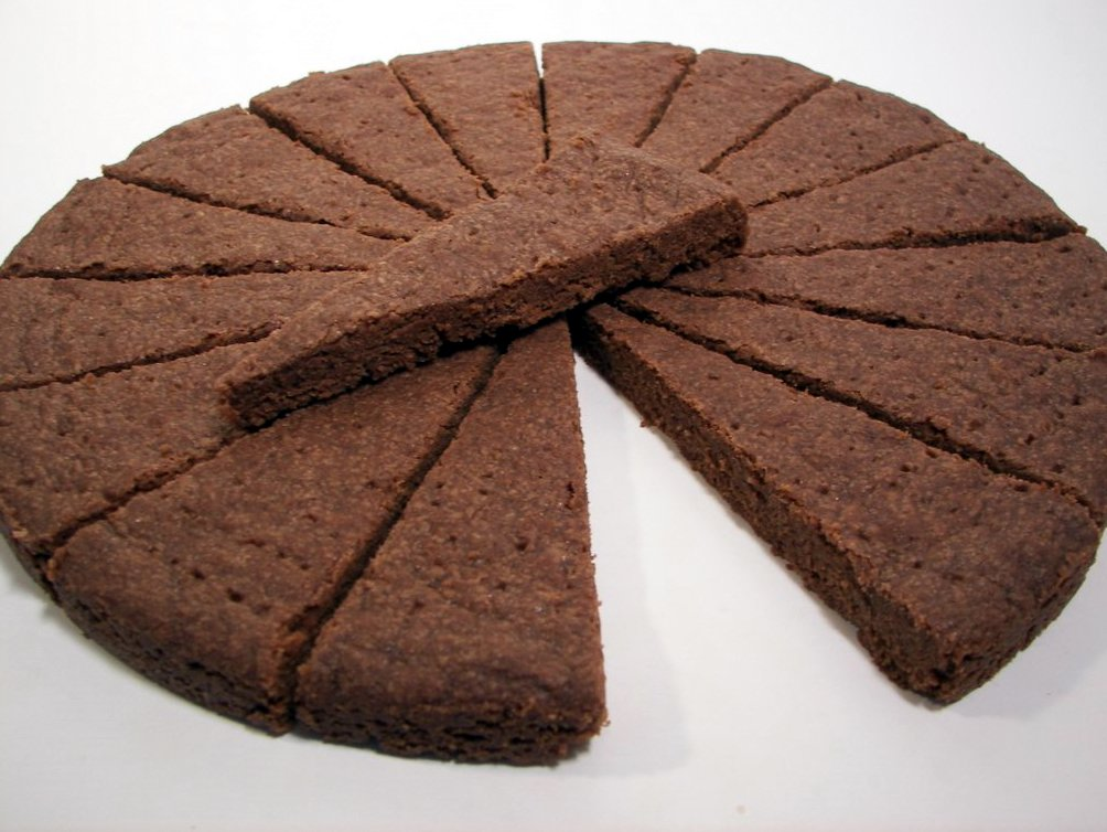 Chocolate Shortbread (Adapted from Alice Medrich)