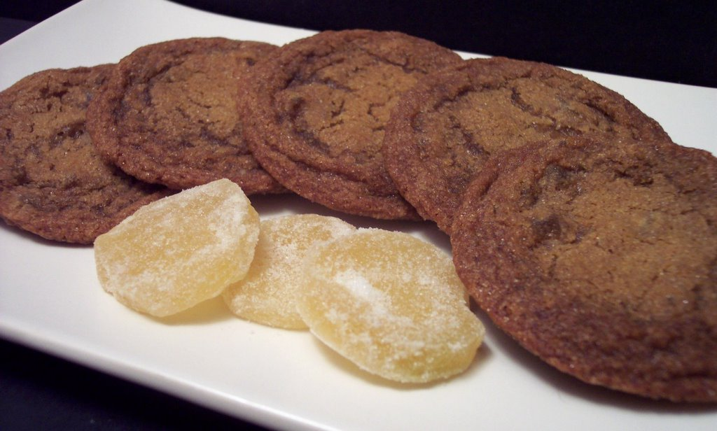 Culinary in the Desert: Chewy Ginger Cookies