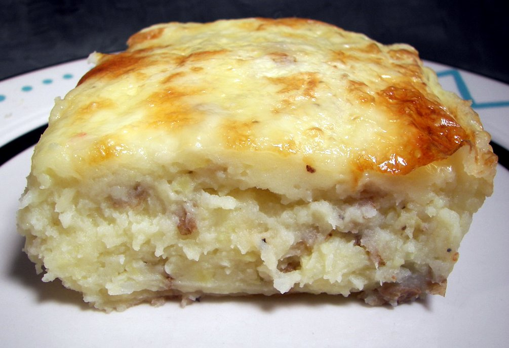 Culinary in the Desert: Mashed Potato Gratin